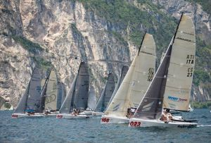 Masottine all'europeo Melges