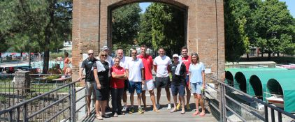 New Zealand Rowing Team alla Canottieri