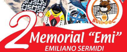 "2° Memorial ""EMI"" - beach tennis"